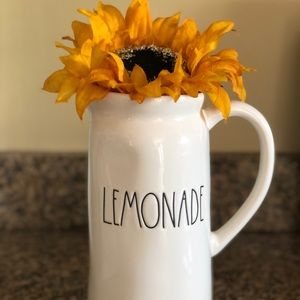 "NWT RAE DUNN ""Lemonade"" pitcher"